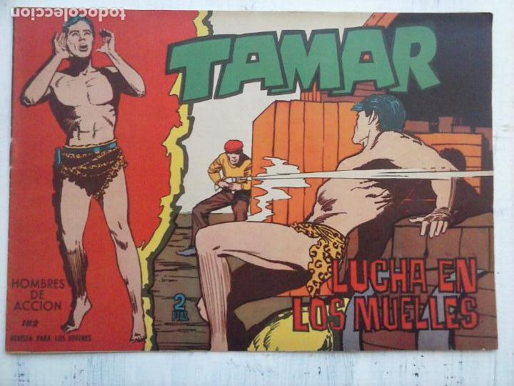 Tebeos: TAMAR COLECCION COMPLETA ORIGINAL SUELTA 1 al 186 - MAGNÍFICO ESTADO, VER TODAS LAS PORTADAS, 1961 - Foto 51 - 135844734