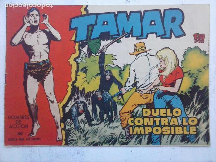 Tebeos: TAMAR COLECCION COMPLETA ORIGINAL SUELTA 1 al 186 - MAGNÍFICO ESTADO, VER TODAS LAS PORTADAS, 1961 - Foto 52 - 135844734
