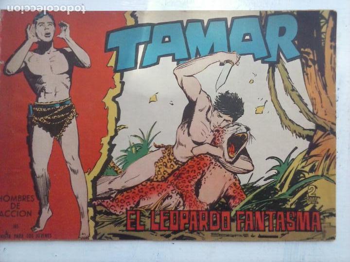 Tebeos: TAMAR COLECCION COMPLETA ORIGINAL SUELTA 1 al 186 - MAGNÍFICO ESTADO, VER TODAS LAS PORTADAS, 1961 - Foto 53 - 135844734