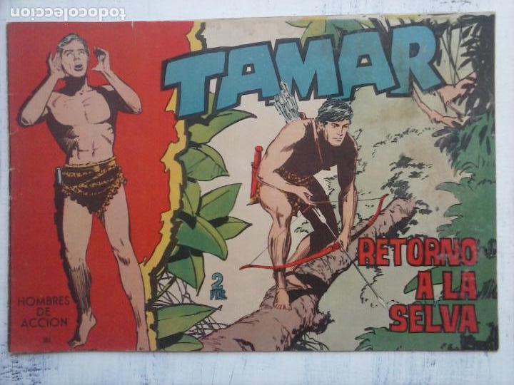 Tebeos: TAMAR COLECCION COMPLETA ORIGINAL SUELTA 1 al 186 - MAGNÍFICO ESTADO, VER TODAS LAS PORTADAS, 1961 - Foto 54 - 135844734