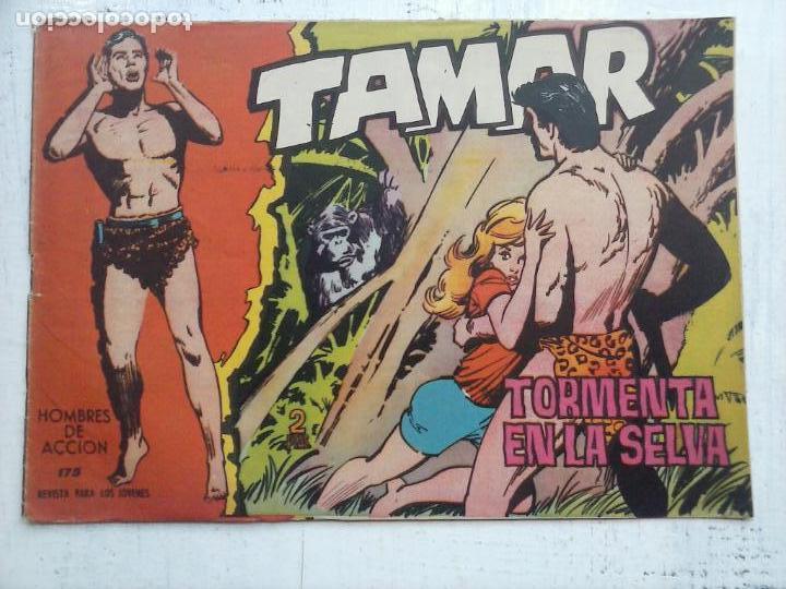Tebeos: TAMAR COLECCION COMPLETA ORIGINAL SUELTA 1 al 186 - MAGNÍFICO ESTADO, VER TODAS LAS PORTADAS, 1961 - Foto 55 - 135844734