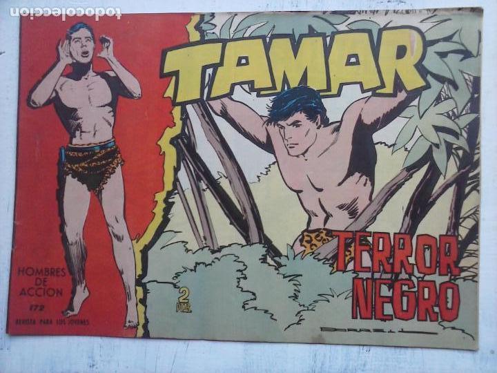 Tebeos: TAMAR COLECCION COMPLETA ORIGINAL SUELTA 1 al 186 - MAGNÍFICO ESTADO, VER TODAS LAS PORTADAS, 1961 - Foto 56 - 135844734