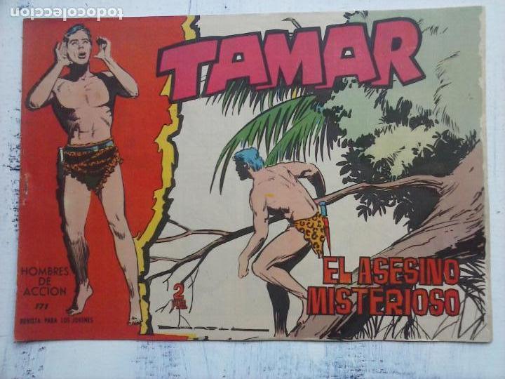 Tebeos: TAMAR COLECCION COMPLETA ORIGINAL SUELTA 1 al 186 - MAGNÍFICO ESTADO, VER TODAS LAS PORTADAS, 1961 - Foto 57 - 135844734