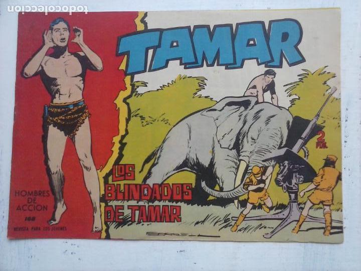 Tebeos: TAMAR COLECCION COMPLETA ORIGINAL SUELTA 1 al 186 - MAGNÍFICO ESTADO, VER TODAS LAS PORTADAS, 1961 - Foto 58 - 135844734