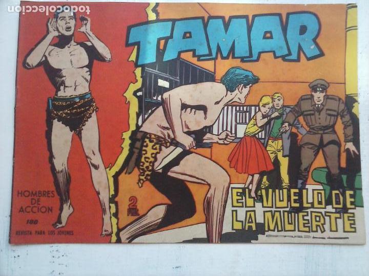 Tebeos: TAMAR COLECCION COMPLETA ORIGINAL SUELTA 1 al 186 - MAGNÍFICO ESTADO, VER TODAS LAS PORTADAS, 1961 - Foto 59 - 135844734