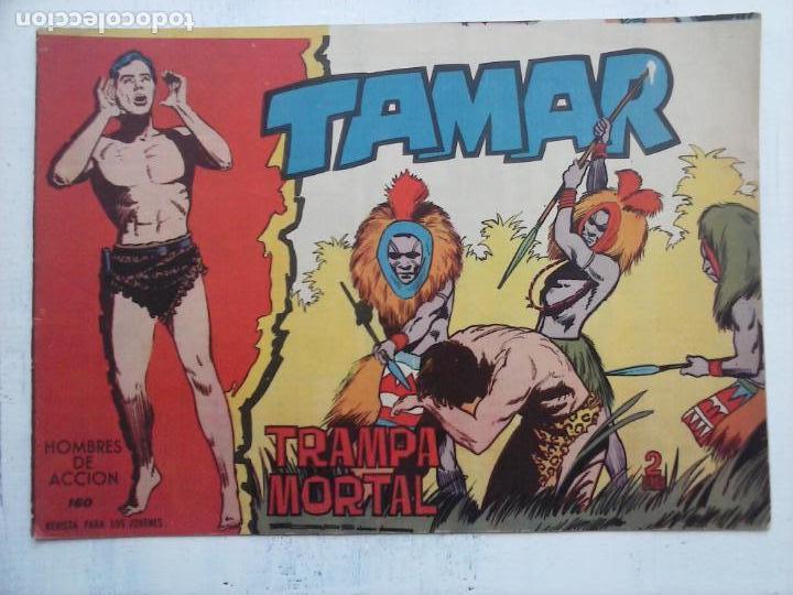Tebeos: TAMAR COLECCION COMPLETA ORIGINAL SUELTA 1 al 186 - MAGNÍFICO ESTADO, VER TODAS LAS PORTADAS, 1961 - Foto 60 - 135844734