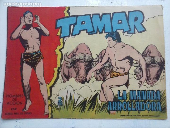 Tebeos: TAMAR COLECCION COMPLETA ORIGINAL SUELTA 1 al 186 - MAGNÍFICO ESTADO, VER TODAS LAS PORTADAS, 1961 - Foto 62 - 135844734