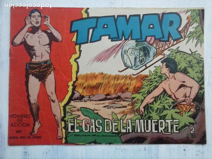 Tebeos: TAMAR COLECCION COMPLETA ORIGINAL SUELTA 1 al 186 - MAGNÍFICO ESTADO, VER TODAS LAS PORTADAS, 1961 - Foto 63 - 135844734