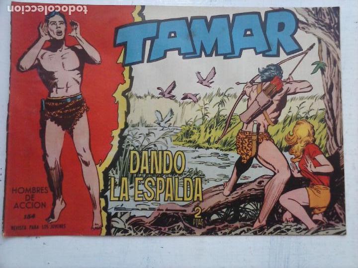 Tebeos: TAMAR COLECCION COMPLETA ORIGINAL SUELTA 1 al 186 - MAGNÍFICO ESTADO, VER TODAS LAS PORTADAS, 1961 - Foto 64 - 135844734