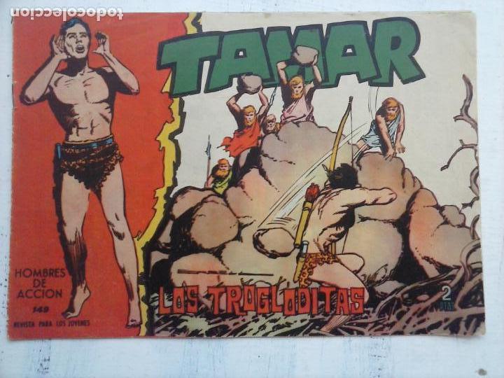 Tebeos: TAMAR COLECCION COMPLETA ORIGINAL SUELTA 1 al 186 - MAGNÍFICO ESTADO, VER TODAS LAS PORTADAS, 1961 - Foto 65 - 135844734