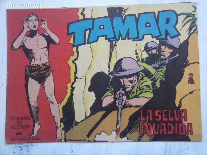 Tebeos: TAMAR COLECCION COMPLETA ORIGINAL SUELTA 1 al 186 - MAGNÍFICO ESTADO, VER TODAS LAS PORTADAS, 1961 - Foto 66 - 135844734
