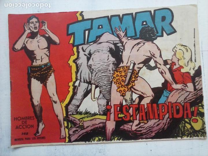 Tebeos: TAMAR COLECCION COMPLETA ORIGINAL SUELTA 1 al 186 - MAGNÍFICO ESTADO, VER TODAS LAS PORTADAS, 1961 - Foto 67 - 135844734