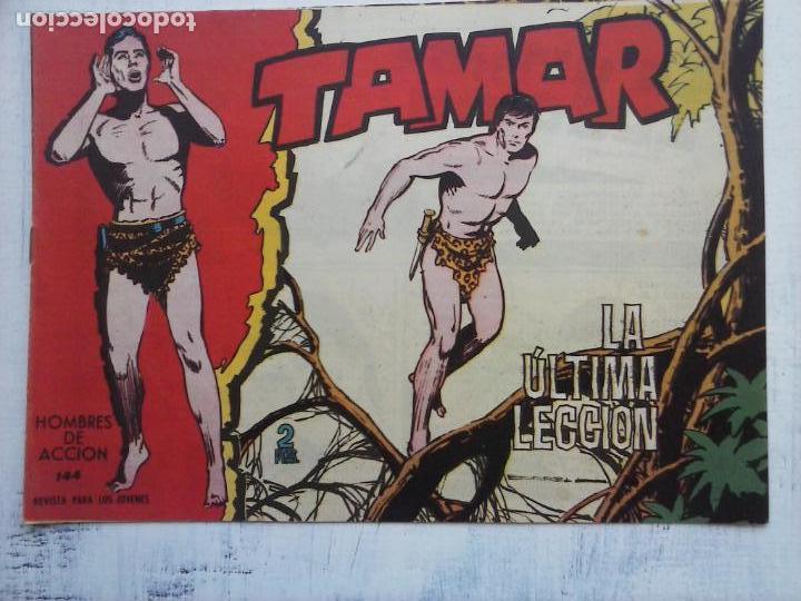Tebeos: TAMAR COLECCION COMPLETA ORIGINAL SUELTA 1 al 186 - MAGNÍFICO ESTADO, VER TODAS LAS PORTADAS, 1961 - Foto 69 - 135844734