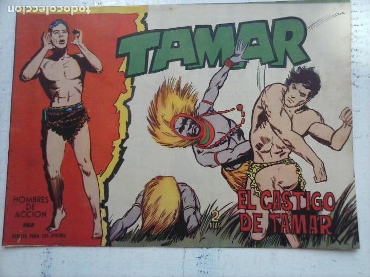 Tebeos: TAMAR COLECCION COMPLETA ORIGINAL SUELTA 1 al 186 - MAGNÍFICO ESTADO, VER TODAS LAS PORTADAS, 1961 - Foto 70 - 135844734