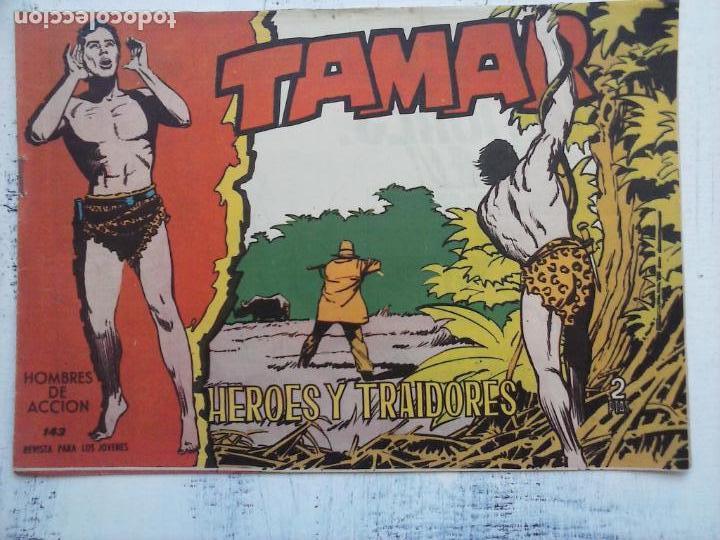 Tebeos: TAMAR COLECCION COMPLETA ORIGINAL SUELTA 1 al 186 - MAGNÍFICO ESTADO, VER TODAS LAS PORTADAS, 1961 - Foto 71 - 135844734