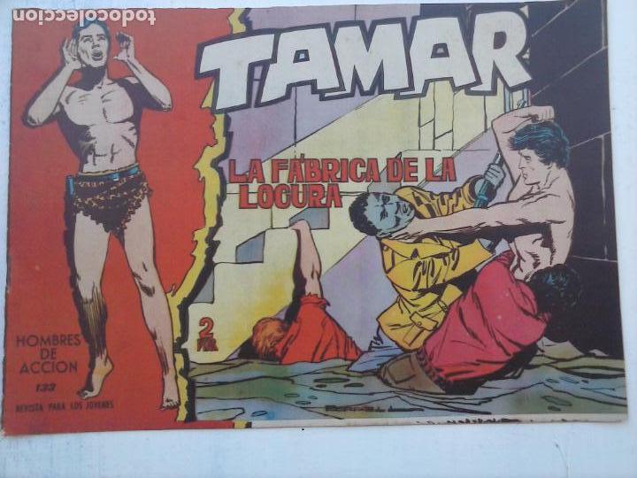 Tebeos: TAMAR COLECCION COMPLETA ORIGINAL SUELTA 1 al 186 - MAGNÍFICO ESTADO, VER TODAS LAS PORTADAS, 1961 - Foto 72 - 135844734