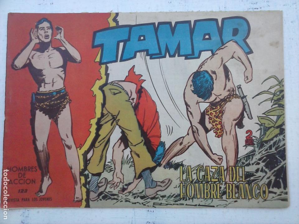Tebeos: TAMAR COLECCION COMPLETA ORIGINAL SUELTA 1 al 186 - MAGNÍFICO ESTADO, VER TODAS LAS PORTADAS, 1961 - Foto 73 - 135844734