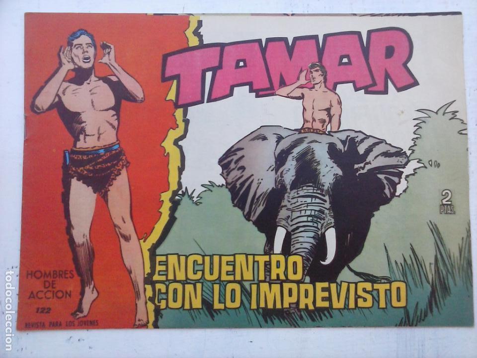 Tebeos: TAMAR COLECCION COMPLETA ORIGINAL SUELTA 1 al 186 - MAGNÍFICO ESTADO, VER TODAS LAS PORTADAS, 1961 - Foto 74 - 135844734