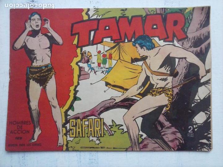 Tebeos: TAMAR COLECCION COMPLETA ORIGINAL SUELTA 1 al 186 - MAGNÍFICO ESTADO, VER TODAS LAS PORTADAS, 1961 - Foto 75 - 135844734