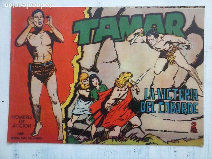 Tebeos: TAMAR COLECCION COMPLETA ORIGINAL SUELTA 1 al 186 - MAGNÍFICO ESTADO, VER TODAS LAS PORTADAS, 1961 - Foto 76 - 135844734