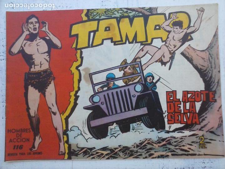 Tebeos: TAMAR COLECCION COMPLETA ORIGINAL SUELTA 1 al 186 - MAGNÍFICO ESTADO, VER TODAS LAS PORTADAS, 1961 - Foto 77 - 135844734