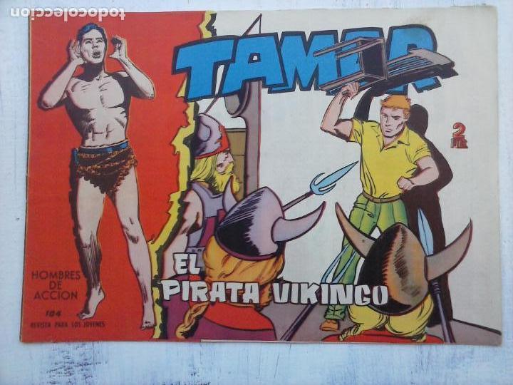 Tebeos: TAMAR COLECCION COMPLETA ORIGINAL SUELTA 1 al 186 - MAGNÍFICO ESTADO, VER TODAS LAS PORTADAS, 1961 - Foto 78 - 135844734
