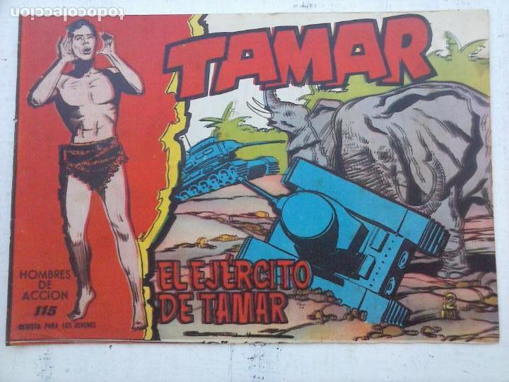 Tebeos: TAMAR COLECCION COMPLETA ORIGINAL SUELTA 1 al 186 - MAGNÍFICO ESTADO, VER TODAS LAS PORTADAS, 1961 - Foto 81 - 135844734