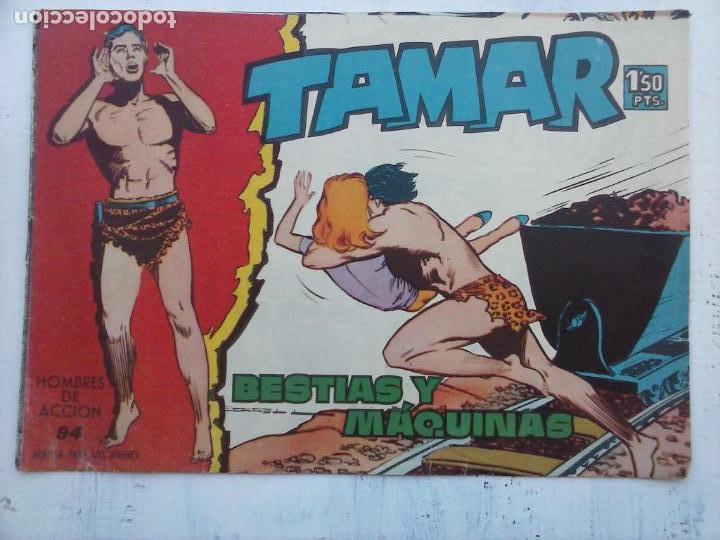 Tebeos: TAMAR COLECCION COMPLETA ORIGINAL SUELTA 1 al 186 - MAGNÍFICO ESTADO, VER TODAS LAS PORTADAS, 1961 - Foto 82 - 135844734