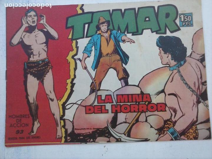 Tebeos: TAMAR COLECCION COMPLETA ORIGINAL SUELTA 1 al 186 - MAGNÍFICO ESTADO, VER TODAS LAS PORTADAS, 1961 - Foto 83 - 135844734