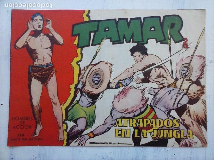 Tebeos: TAMAR COLECCION COMPLETA ORIGINAL SUELTA 1 al 186 - MAGNÍFICO ESTADO, VER TODAS LAS PORTADAS, 1961 - Foto 84 - 135844734