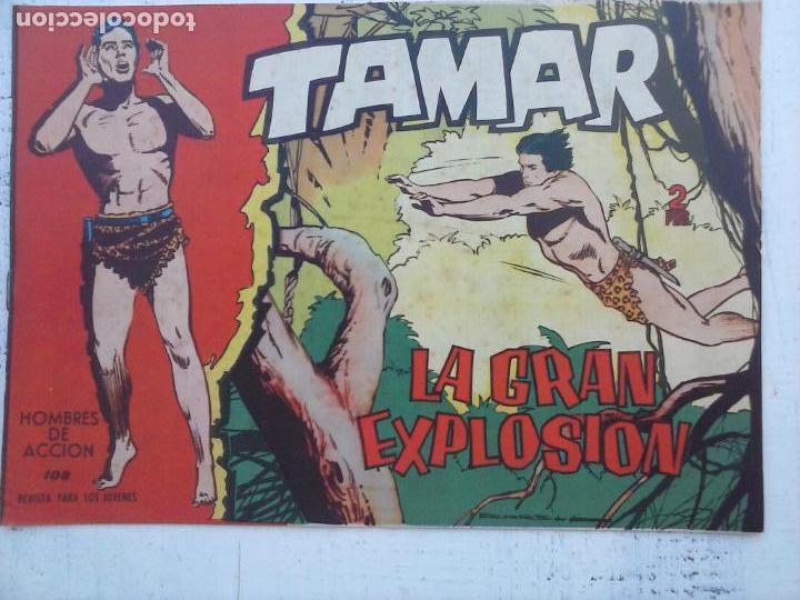 Tebeos: TAMAR COLECCION COMPLETA ORIGINAL SUELTA 1 al 186 - MAGNÍFICO ESTADO, VER TODAS LAS PORTADAS, 1961 - Foto 86 - 135844734
