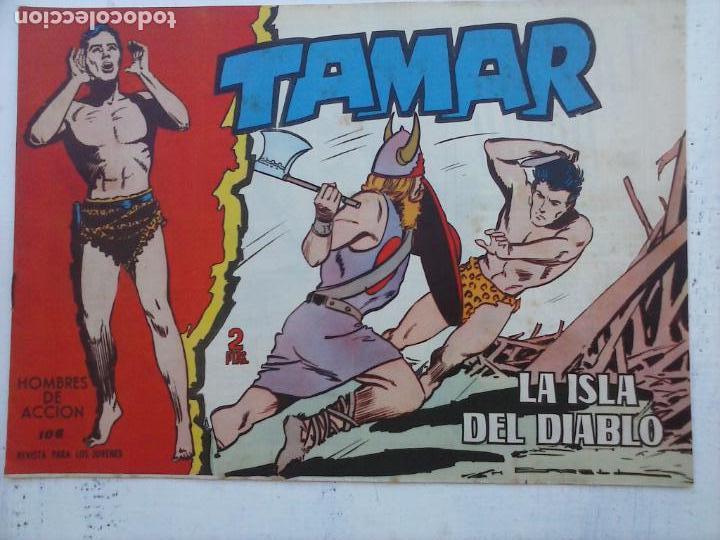 Tebeos: TAMAR COLECCION COMPLETA ORIGINAL SUELTA 1 al 186 - MAGNÍFICO ESTADO, VER TODAS LAS PORTADAS, 1961 - Foto 87 - 135844734