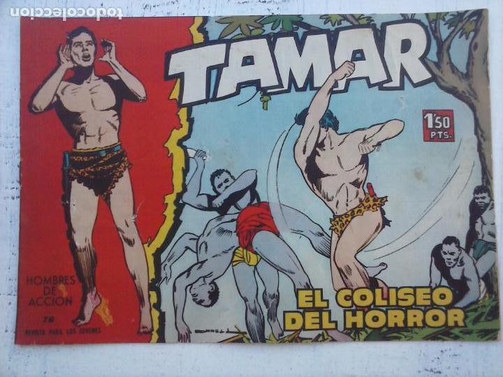 Tebeos: TAMAR COLECCION COMPLETA ORIGINAL SUELTA 1 al 186 - MAGNÍFICO ESTADO, VER TODAS LAS PORTADAS, 1961 - Foto 89 - 135844734