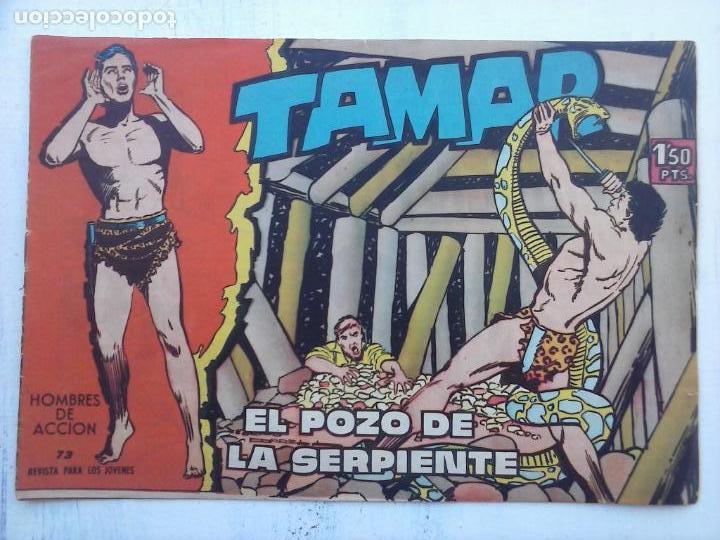 Tebeos: TAMAR COLECCION COMPLETA ORIGINAL SUELTA 1 al 186 - MAGNÍFICO ESTADO, VER TODAS LAS PORTADAS, 1961 - Foto 90 - 135844734