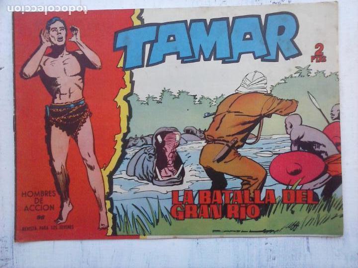 Tebeos: TAMAR COLECCION COMPLETA ORIGINAL SUELTA 1 al 186 - MAGNÍFICO ESTADO, VER TODAS LAS PORTADAS, 1961 - Foto 91 - 135844734