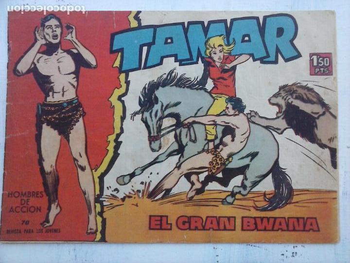 Tebeos: TAMAR COLECCION COMPLETA ORIGINAL SUELTA 1 al 186 - MAGNÍFICO ESTADO, VER TODAS LAS PORTADAS, 1961 - Foto 92 - 135844734
