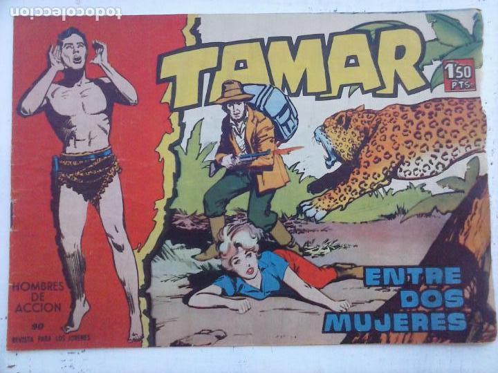 Tebeos: TAMAR COLECCION COMPLETA ORIGINAL SUELTA 1 al 186 - MAGNÍFICO ESTADO, VER TODAS LAS PORTADAS, 1961 - Foto 93 - 135844734