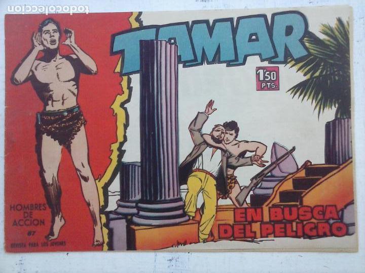 Tebeos: TAMAR COLECCION COMPLETA ORIGINAL SUELTA 1 al 186 - MAGNÍFICO ESTADO, VER TODAS LAS PORTADAS, 1961 - Foto 95 - 135844734
