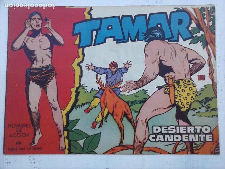Tebeos: TAMAR COLECCION COMPLETA ORIGINAL SUELTA 1 al 186 - MAGNÍFICO ESTADO, VER TODAS LAS PORTADAS, 1961 - Foto 96 - 135844734