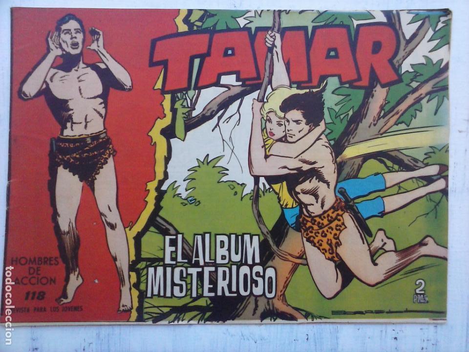 Tebeos: TAMAR COLECCION COMPLETA ORIGINAL SUELTA 1 al 186 - MAGNÍFICO ESTADO, VER TODAS LAS PORTADAS, 1961 - Foto 97 - 135844734