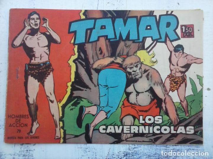 Tebeos: TAMAR COLECCION COMPLETA ORIGINAL SUELTA 1 al 186 - MAGNÍFICO ESTADO, VER TODAS LAS PORTADAS, 1961 - Foto 99 - 135844734