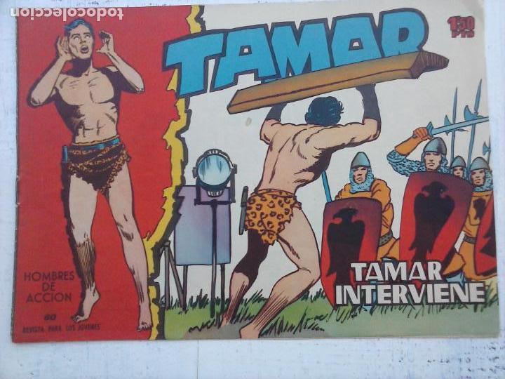 Tebeos: TAMAR COLECCION COMPLETA ORIGINAL SUELTA 1 al 186 - MAGNÍFICO ESTADO, VER TODAS LAS PORTADAS, 1961 - Foto 102 - 135844734