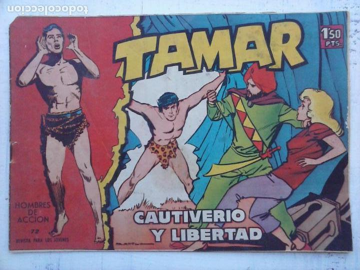 Tebeos: TAMAR COLECCION COMPLETA ORIGINAL SUELTA 1 al 186 - MAGNÍFICO ESTADO, VER TODAS LAS PORTADAS, 1961 - Foto 103 - 135844734