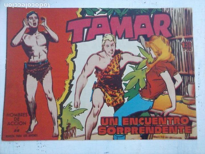 Tebeos: TAMAR COLECCION COMPLETA ORIGINAL SUELTA 1 al 186 - MAGNÍFICO ESTADO, VER TODAS LAS PORTADAS, 1961 - Foto 104 - 135844734