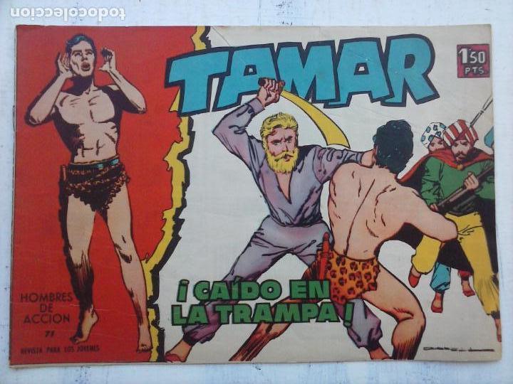 Tebeos: TAMAR COLECCION COMPLETA ORIGINAL SUELTA 1 al 186 - MAGNÍFICO ESTADO, VER TODAS LAS PORTADAS, 1961 - Foto 105 - 135844734