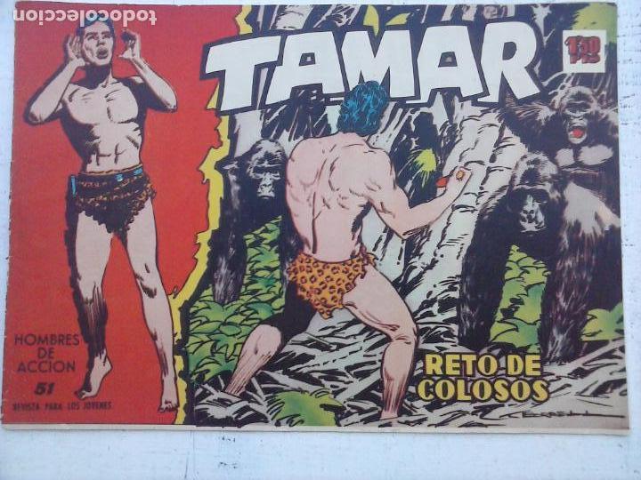 Tebeos: TAMAR COLECCION COMPLETA ORIGINAL SUELTA 1 al 186 - MAGNÍFICO ESTADO, VER TODAS LAS PORTADAS, 1961 - Foto 107 - 135844734
