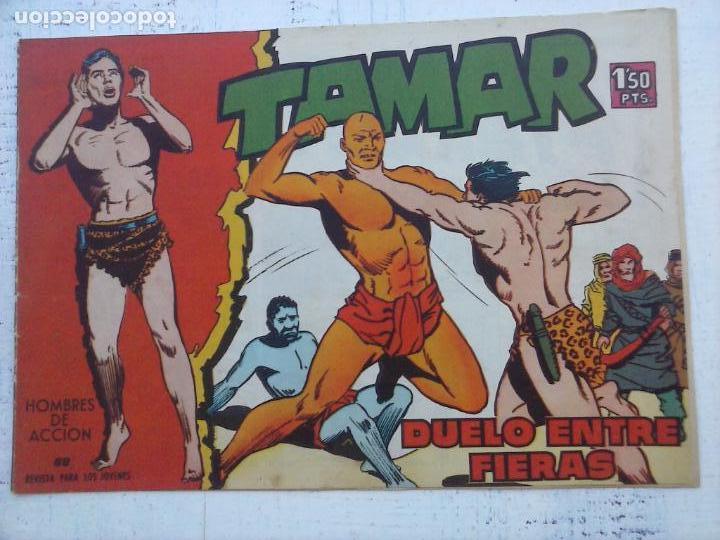 Tebeos: TAMAR COLECCION COMPLETA ORIGINAL SUELTA 1 al 186 - MAGNÍFICO ESTADO, VER TODAS LAS PORTADAS, 1961 - Foto 109 - 135844734
