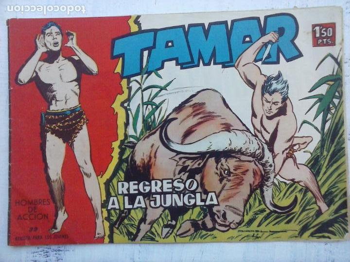 Tebeos: TAMAR COLECCION COMPLETA ORIGINAL SUELTA 1 al 186 - MAGNÍFICO ESTADO, VER TODAS LAS PORTADAS, 1961 - Foto 110 - 135844734