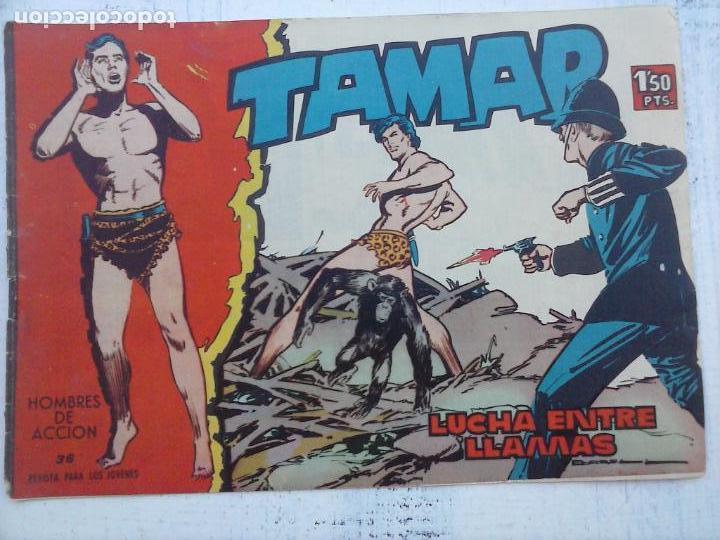 Tebeos: TAMAR COLECCION COMPLETA ORIGINAL SUELTA 1 al 186 - MAGNÍFICO ESTADO, VER TODAS LAS PORTADAS, 1961 - Foto 111 - 135844734