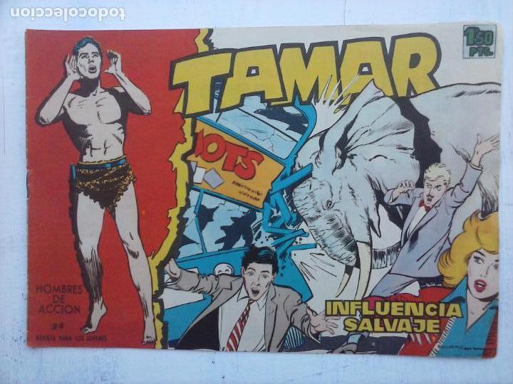Tebeos: TAMAR COLECCION COMPLETA ORIGINAL SUELTA 1 al 186 - MAGNÍFICO ESTADO, VER TODAS LAS PORTADAS, 1961 - Foto 112 - 135844734